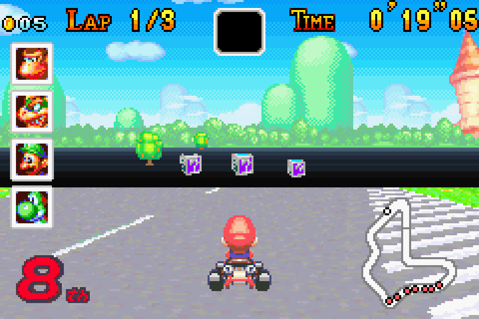 Mario Kart Super Circuit Download Game Gamefabrique