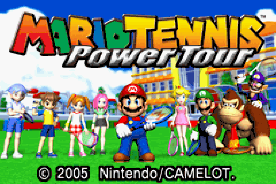 Mario Tennis: Power Tour Download Game | GameFabrique