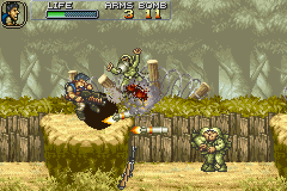 Metal Slug Advance Download Game Gamefabrique