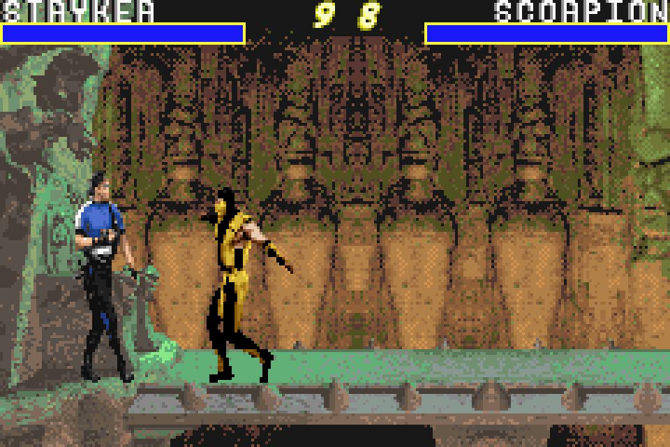 gameboy color mortal kombat