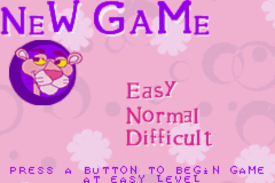 Pink Panther Game 2002 Download