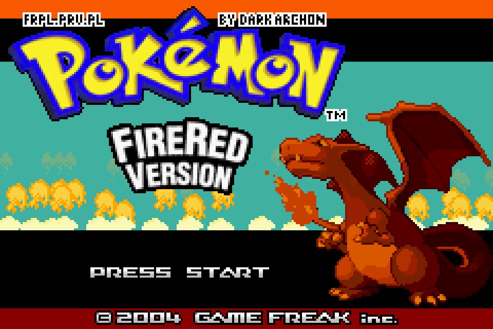Pokemon Fire Red Download Game | GameFabrique