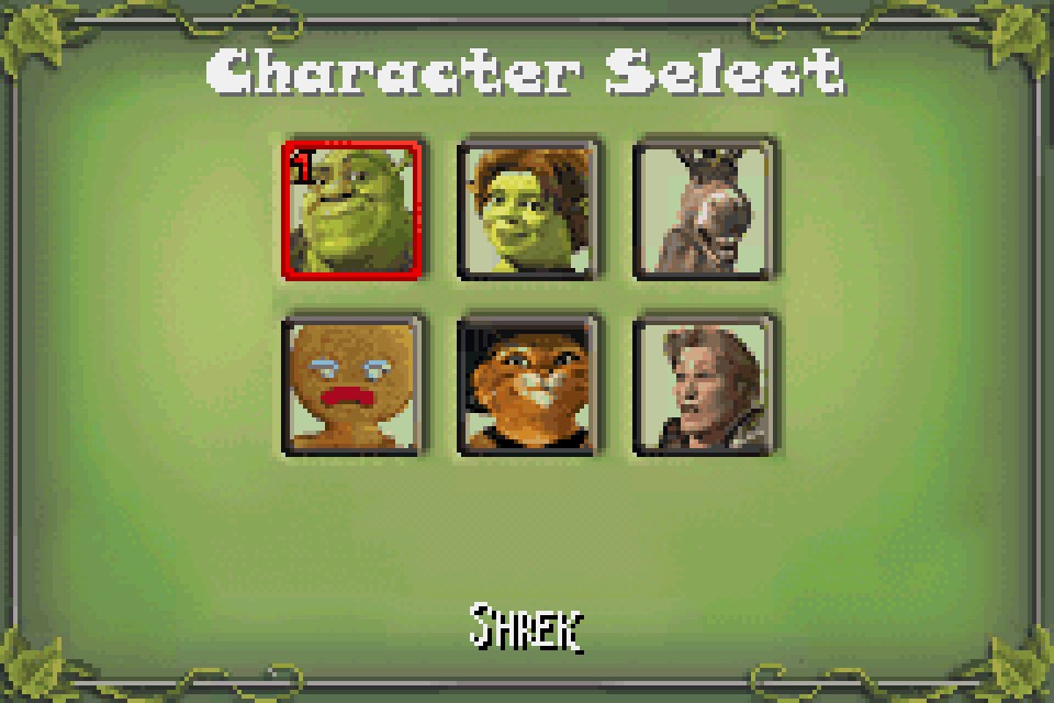 Shrek Super Slam Download Game Gamefabrique