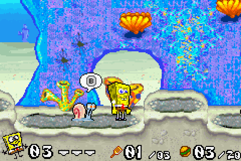 Good when review gba battle for bikini bottom