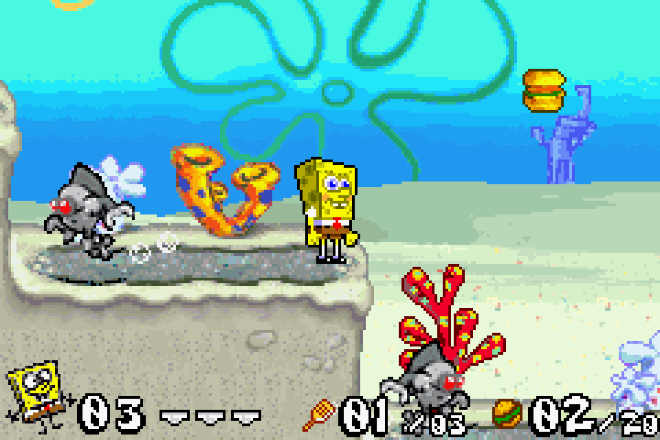 With review gba battle for bikini bottom opinion