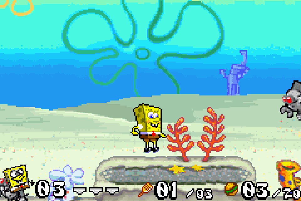 Remarkable, review gba battle for bikini bottom impossible