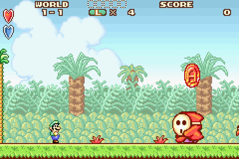 Super Mario Advance Screenshots Gamefabrique