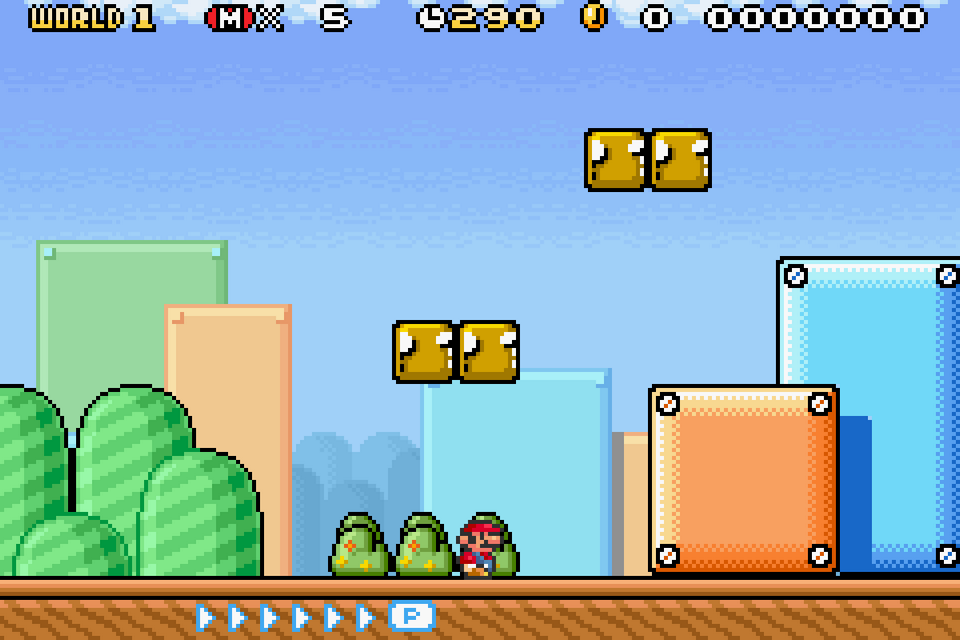 super mario brothers gba rom