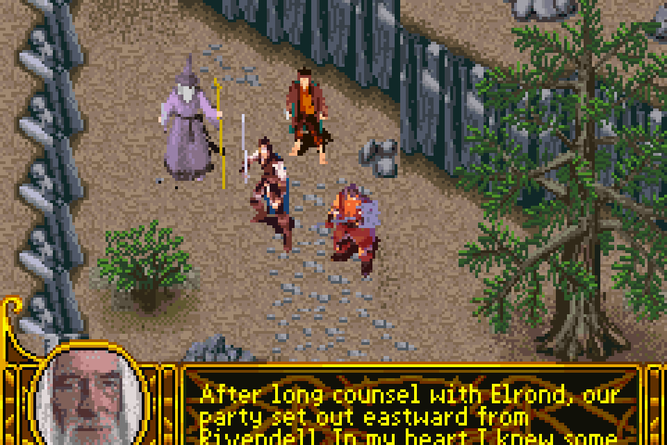 Lord Of The Rings The The Two Towers Gba