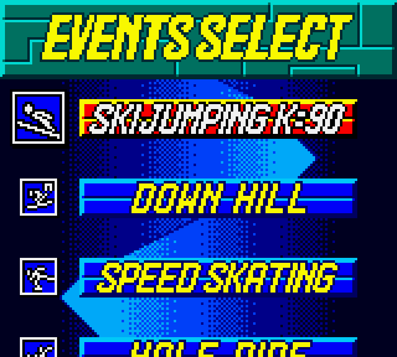 Konami Winter Games Download Game