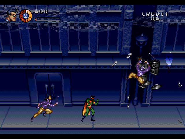 adventures of batman and robin sega