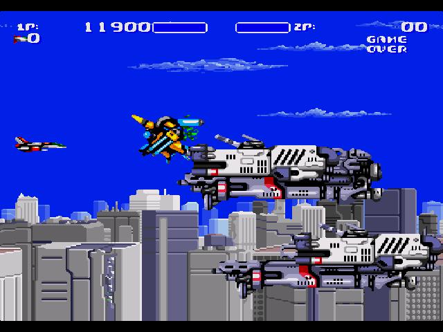 Air Buster(Aero Blaster) Sega Mega Drive
