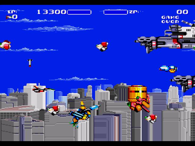 aero blasters mega drive