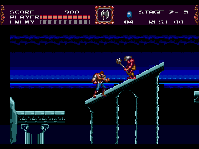 castlevania bloodlines jp rom