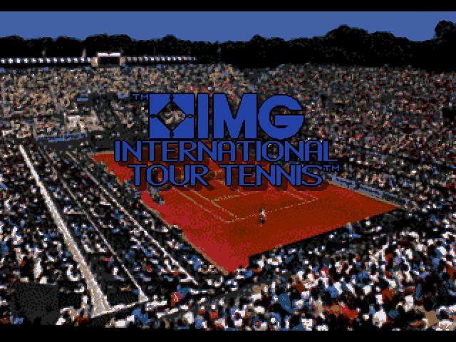 IMG International Tour Tennis Screenshots