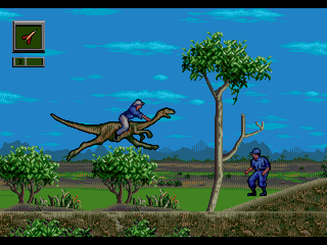 Jurassic Park - Rampage Edition full screenshot