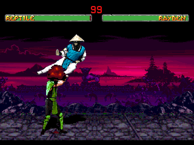 Mortal Kombat 2 32X Download Game | GameFabrique