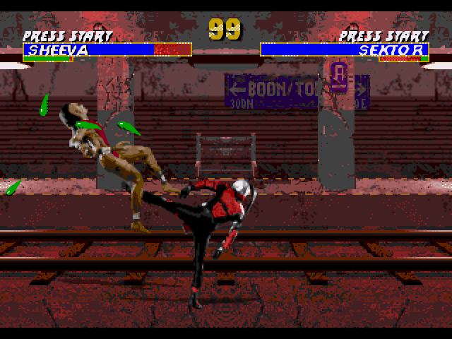 Mortal Kombat III full screenshot