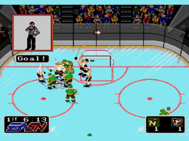 NHL Hockey 92 Screensh...