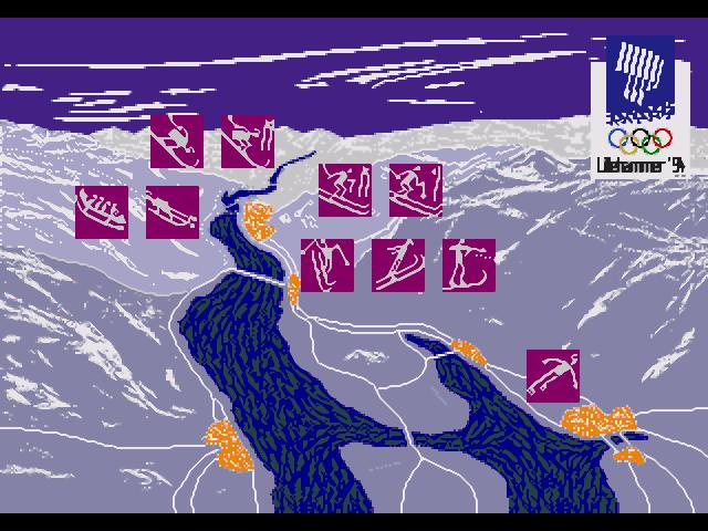 Olympic Winter Games - Lillehammer 94 Screenshots