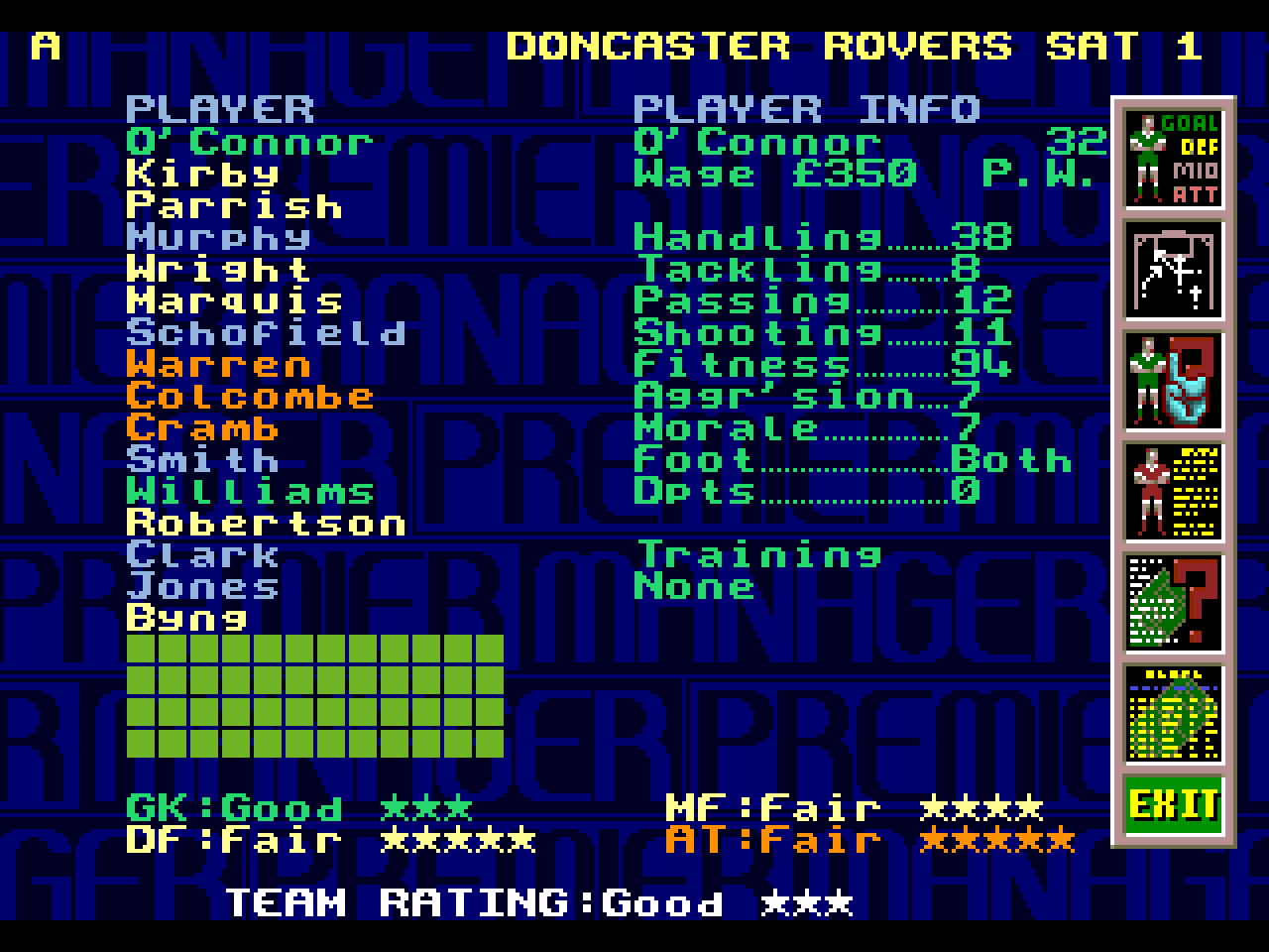 Premier Manager 97 Download Game Gamefabrique