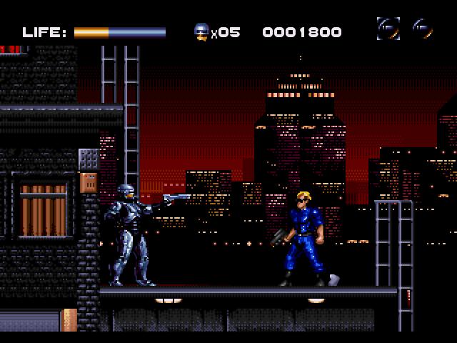 RoboCop vs The Terminator Screenshots