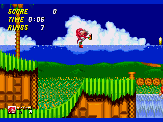 Sonic dash 2: sonic boom sonic & knuckles knuckles the echidna.