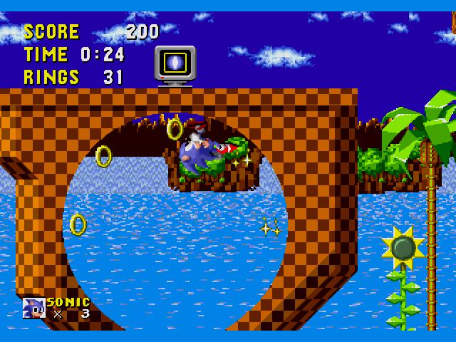 View all 17 Sonic the Hedgehog screenshots