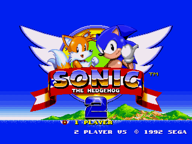 Sonic the hedgehog 2 (world) sega genesis rom replayers.