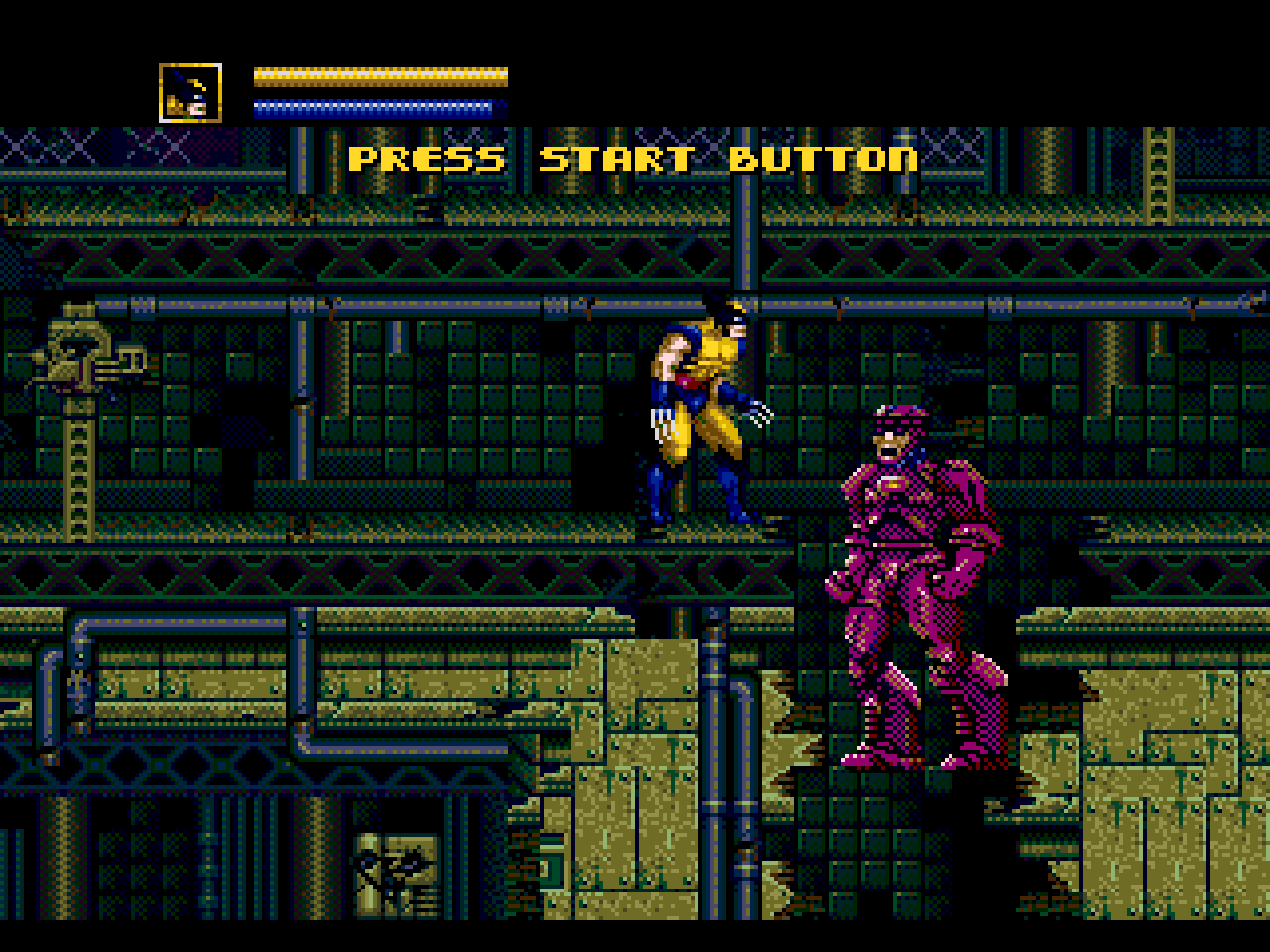 X men sega genesis download