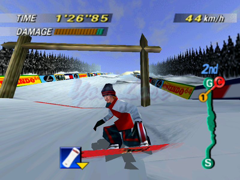 1080 Snowboard n64