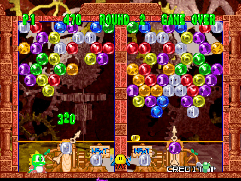 Bust-A-Move 2 : Arcade, edition, download (1996 Puzzle Game) Bust, a Move 2, arcade, edition (1996 E) : Free Download
