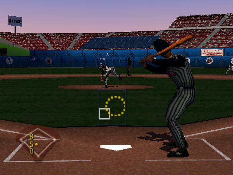 8137a63707 ... Major League Baseball Featuring Ken Griffey, Jr. Nintendo 64 Screenshot  ...