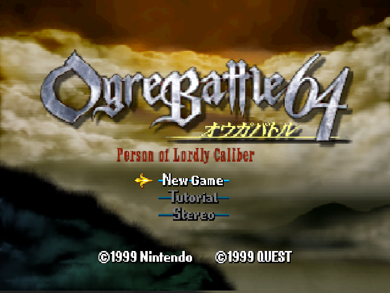 Ogre Battle 64: Person of Lordly Caliber Download Game   GameFabrique