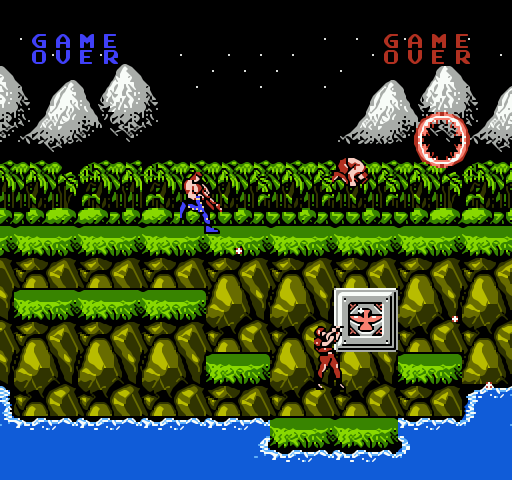 Contra full screenshot