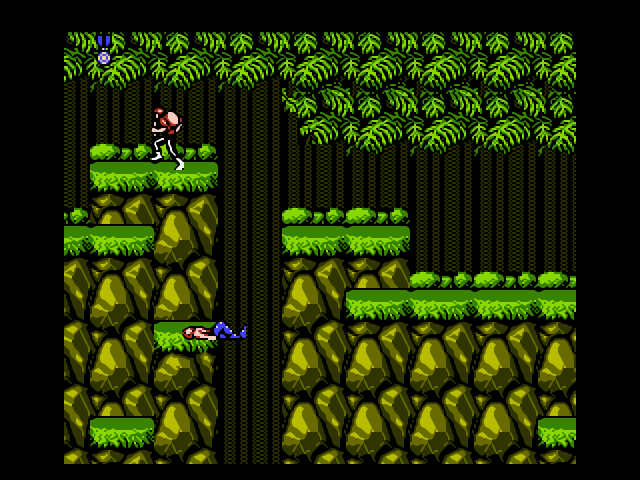Contra for NES Download Game | GameFabrique