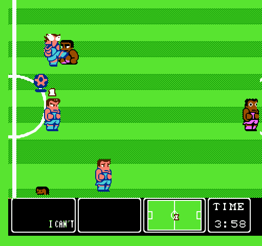 Nintendo World Cup is a soccer video game for the Nintendo