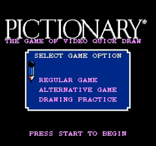 Pictionary Screenshot