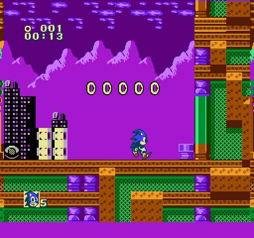 Sonic 3D Blast Screenshots   GameFabrique