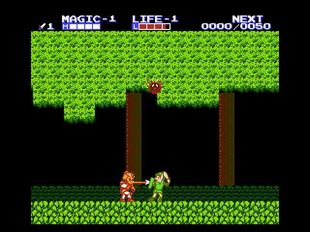 adventure of link gba