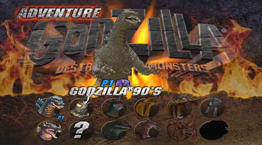 godzilla monsters of monsters game