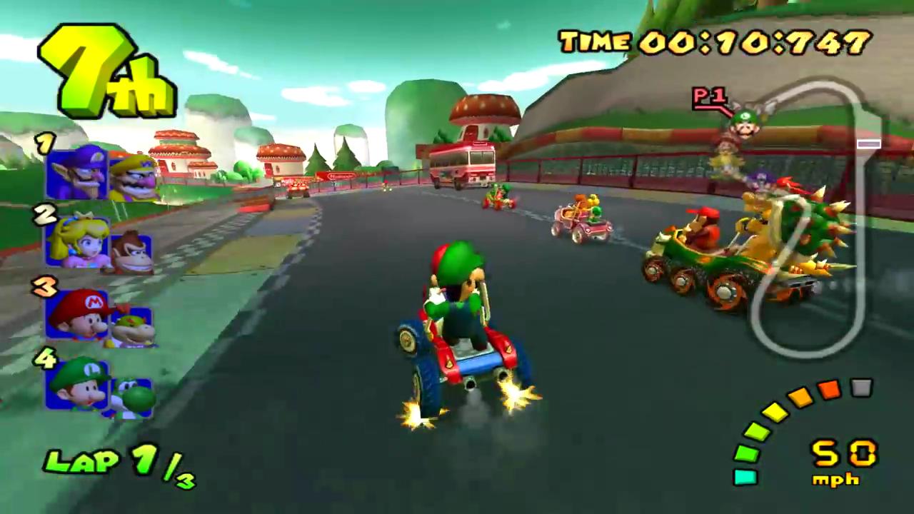 Mario Kart Double Dash Download Game Gamefabrique