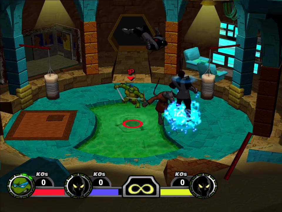 Teenage Mutant Ninja Turtles Mutant Melee Download Gamefabrique