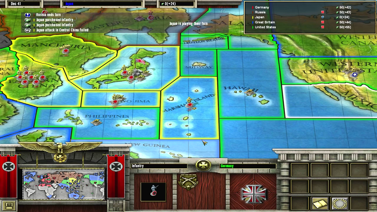 Axis and Allies (1998) : Hasbro Interactive : Free ...
