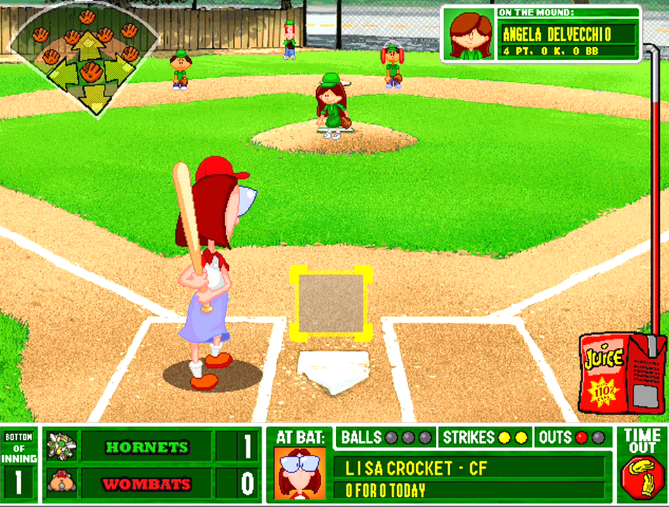Backyard Baseball 2001 Download Game Gamefabrique