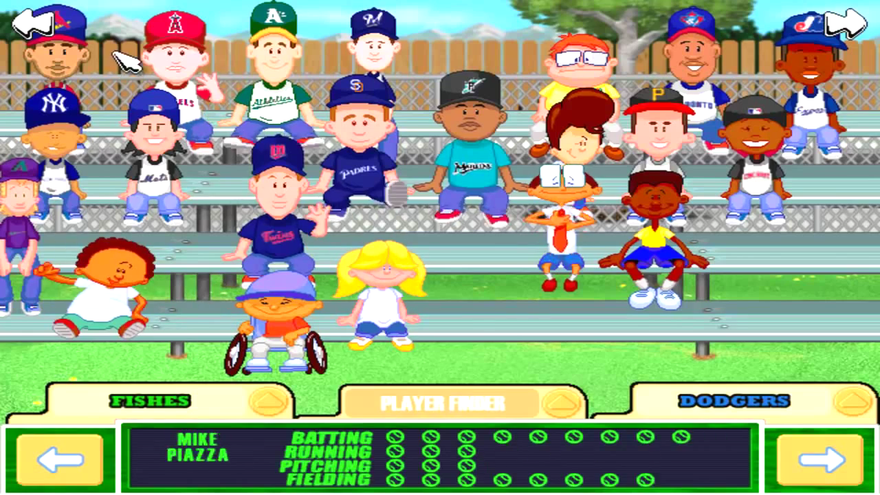 Backyard Baseball 2003 Download Game Gamefabrique