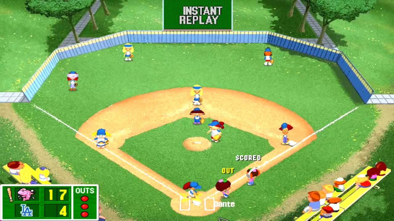 play backyard baseball 2003
