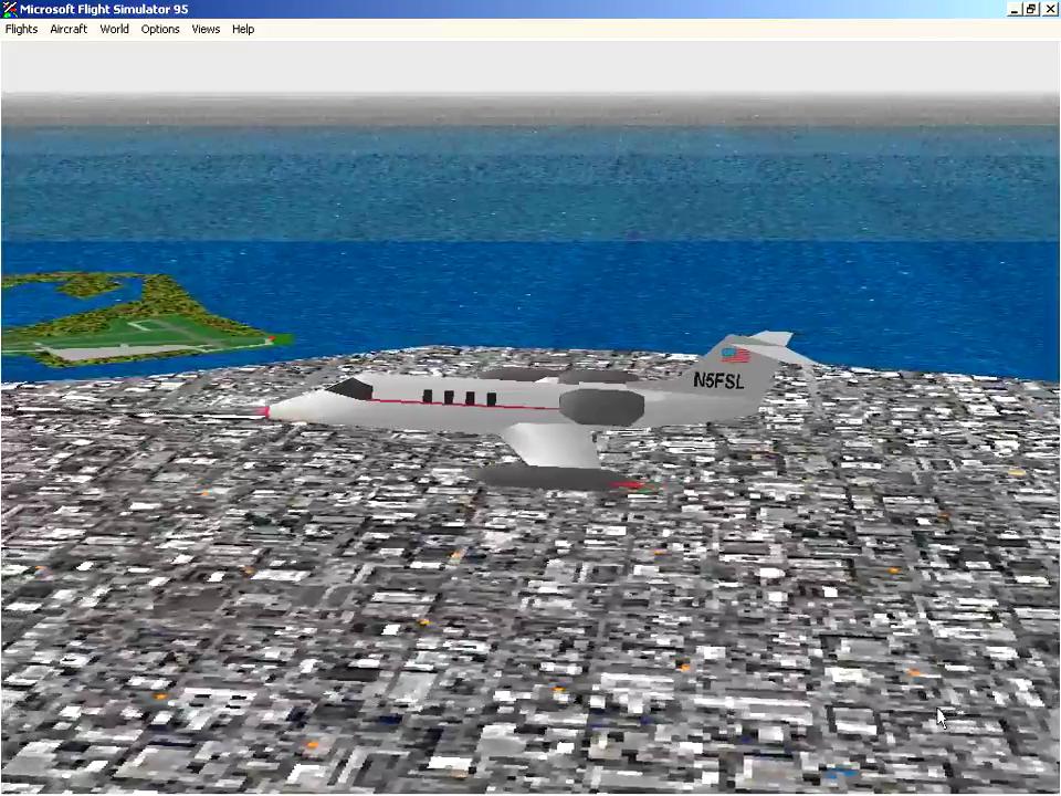 Microsoft Flight Simulator for Windows 95 Download Game | GameFabrique