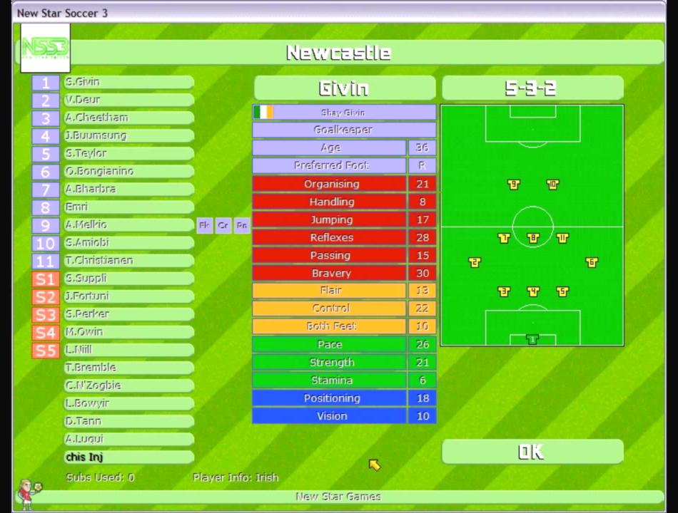 New Star Soccer 3 Download Gamefabrique