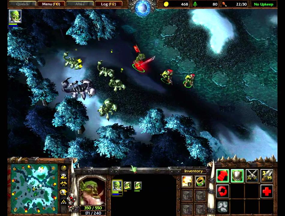 Warcraft 3 The Frozen Throne Download Game Gamefabrique
